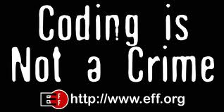 Coding is not a crime!